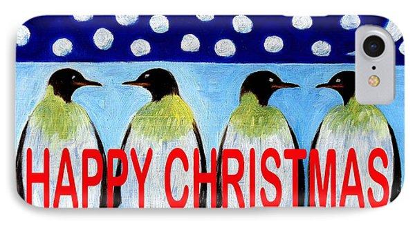 Happy Christmas 24 Phone Case by Patrick J Murphy