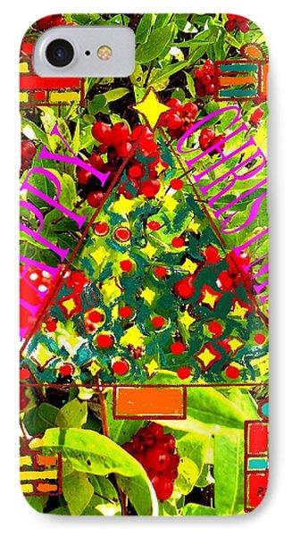 Happy Christmas 25 Phone Case by Patrick J Murphy