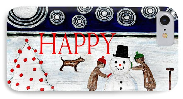 Happy Christmas 29 Phone Case by Patrick J Murphy