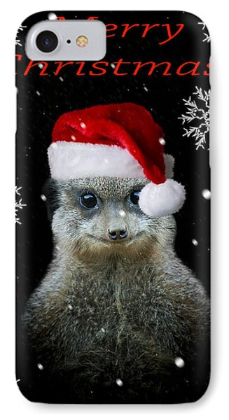 Happy Christmas IPhone Case by Paul Neville