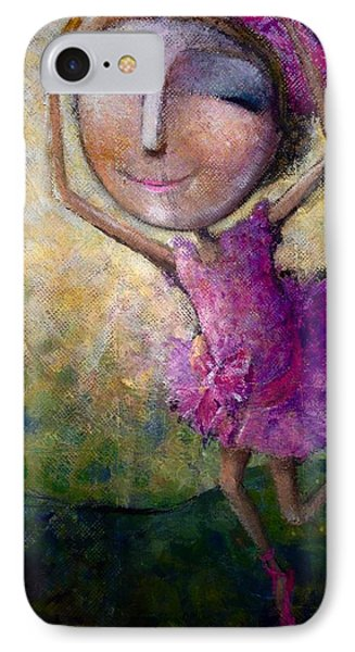 Happy Dance IPhone Case by Eleatta Diver