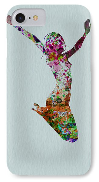 Happy Dance IPhone Case by Naxart Studio