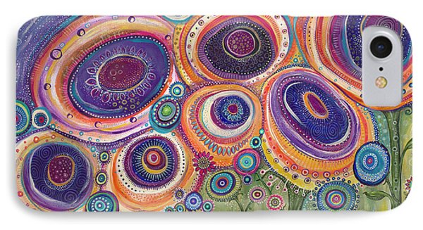 IPhone Case featuring the painting Happy Dance by Tanielle Childers