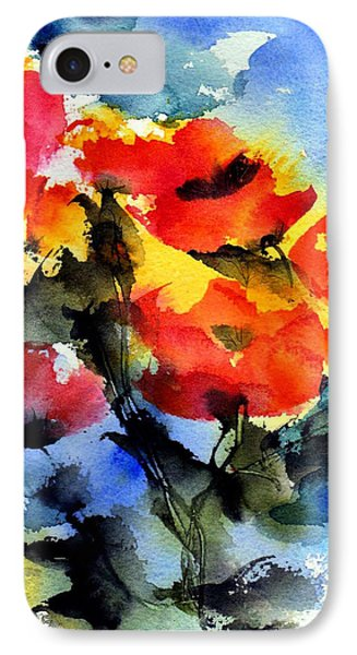 Happy Day IPhone Case by Anne Duke