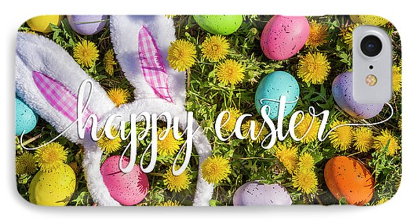 IPhone Case featuring the photograph Happy Easter by Teri Virbickis