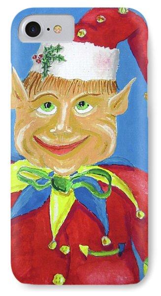 Happy Elf IPhone Case by Gordon Wendling