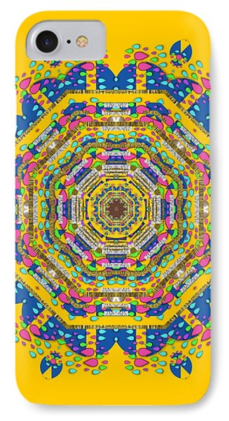 Happy Fantasy Earth Mandala IPhone Case
