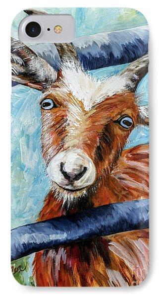 Happy Goat IPhone Case