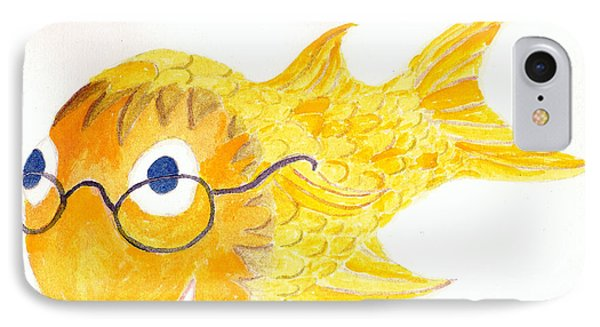 Happy Golden Fish IPhone Case