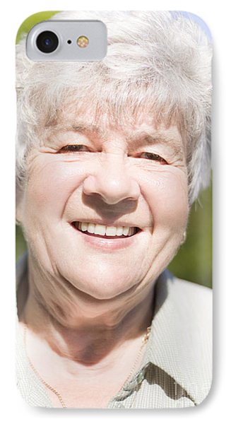 Happy Grandmother IPhone Case by Jorgo Photography - Wall Art Gallery