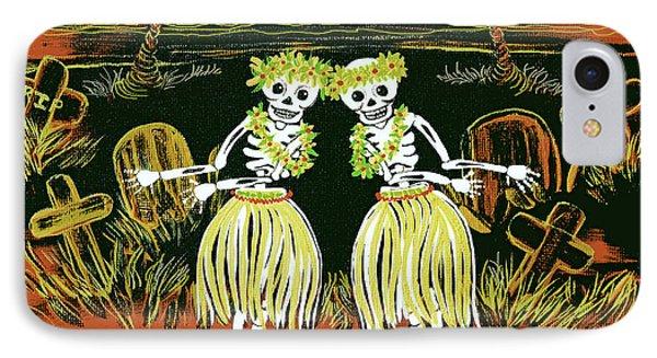Happy Halloween Dance IPhone Case