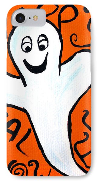 Happy Halloween Ghost Phone Case by Jera Sky