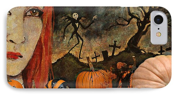 Happy Halloween Phone Case by Jeff Burgess