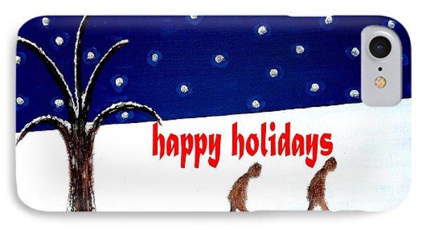 Happy Holidays 5 Phone Case by Patrick J Murphy