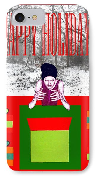 Happy Holidays 63 Phone Case by Patrick J Murphy