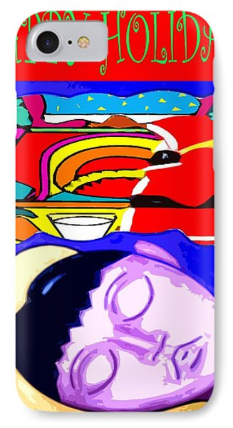 Happy Holidays 67 IPhone Case by Patrick J Murphy