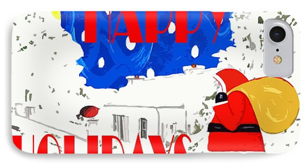 Happy Holidays 86 IPhone Case by Patrick J Murphy