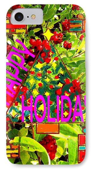 Happy Holidays 9 Phone Case by Patrick J Murphy