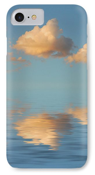 Happy Little Cloud Phone Case by Jerry McElroy