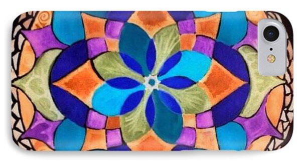 Happy Mandala  IPhone Case by Sandra Lira
