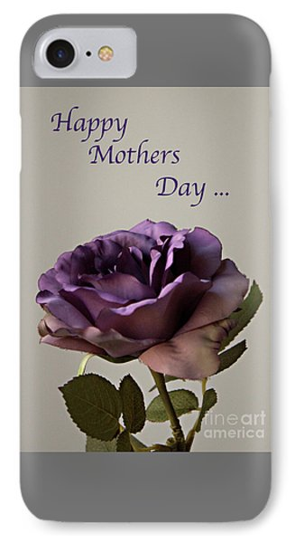 Happy Mothers Day No. 2 IPhone Case by Sherry Hallemeier