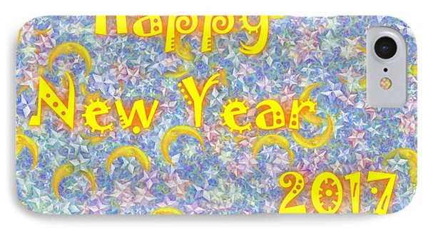 Happy New Year 2017 Phone Case by Jean Bernard Roussilhe