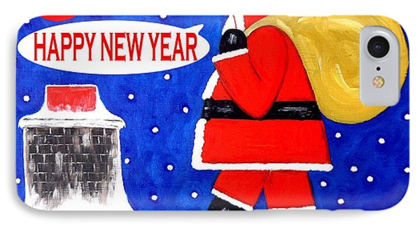 Happy New Year 48 Phone Case by Patrick J Murphy