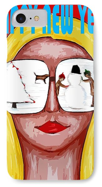 Happy New Year 51 Phone Case by Patrick J Murphy