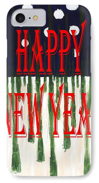 Happy New Year 92 Phone Case by Patrick J Murphy
