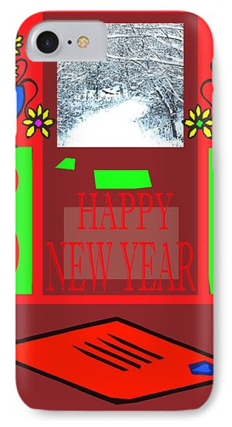 Happy New Year 97 IPhone Case by Patrick J Murphy