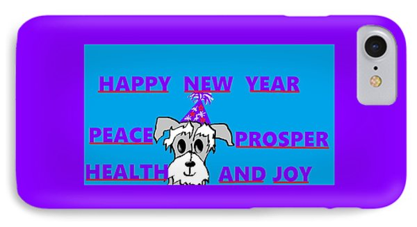 Happy New Year IPhone Case