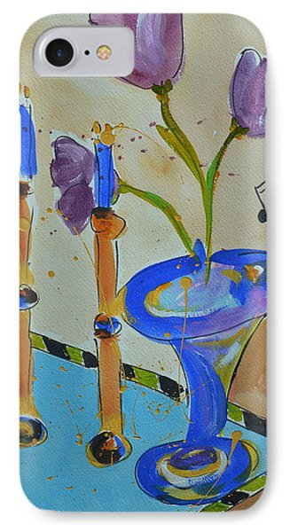 Happy Notes II IPhone Case by Teresa Tilley