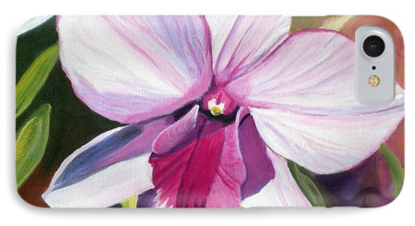 Happy Orchid IPhone Case by Marionette Taboniar