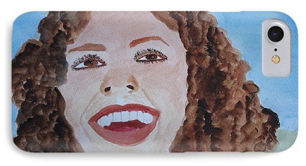 IPhone Case featuring the painting Happy by Sandy McIntire