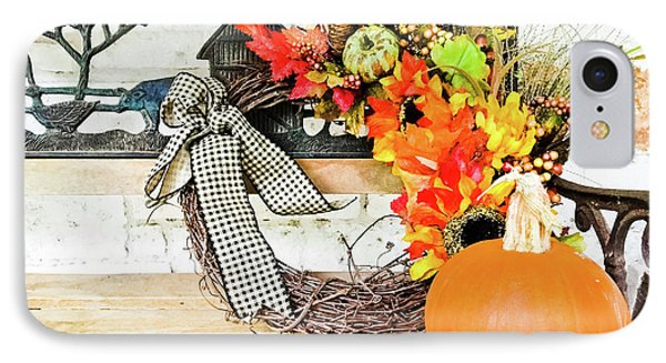 Happy Thanksgiving IPhone Case by Barbara Shallue
