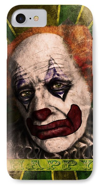 Happy The Clown IPhone Case by Jeremy Martinson