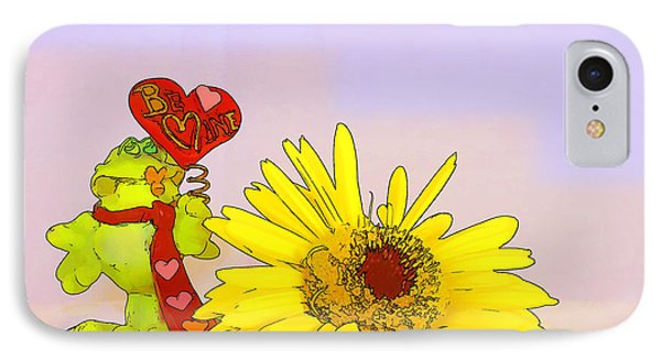 IPhone Case featuring the photograph Happy Valentine's Day by Teresa Zieba