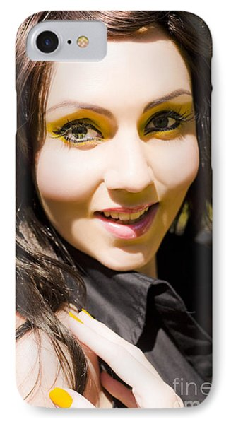 Happy Woman With Smile IPhone Case by Jorgo Photography - Wall Art Gallery