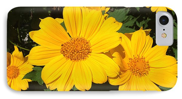 Happy Yellow IPhone Case by LeeAnn Kendall