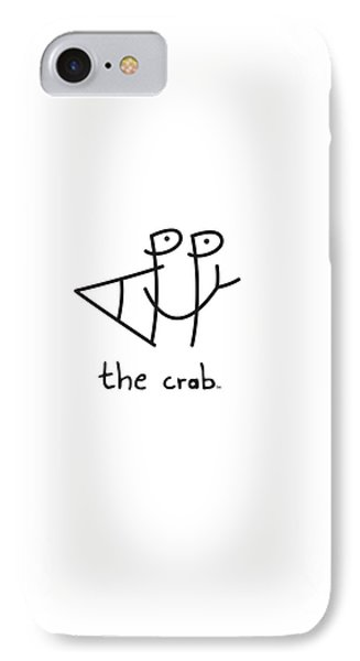 Happythecrab.com IPhone Case by Chris N Rohrbach