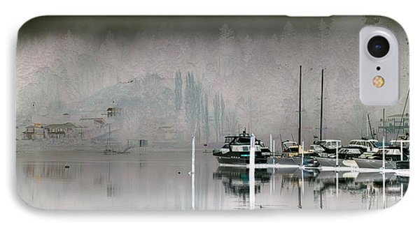 Harbor And Boats IPhone Case by John Rossman
