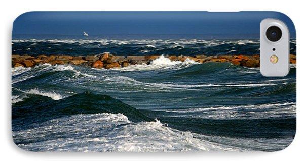 Harbor Blues - Cape Cod Bay IPhone Case by Dianne Cowen