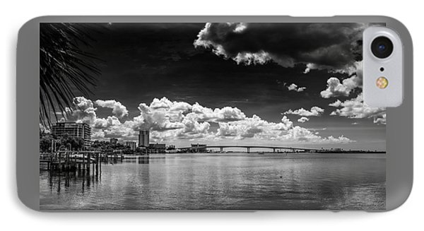 Harbor Bluffs IPhone Case by Marvin Spates