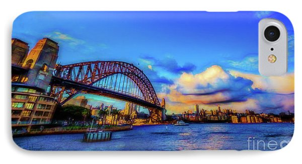 IPhone Case featuring the photograph Harbor Bridge by Perry Webster