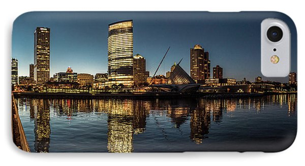 IPhone 7 Case featuring the photograph Harbor House View by Randy Scherkenbach
