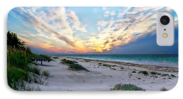 Harbor Island Sunset IPhone Case by Anthony Dezenzio