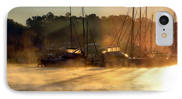 IPhone Case featuring the photograph Harbor Mist by Brian Wallace