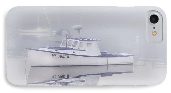 Harbor Mist   IPhone Case by Thomas Schoeller