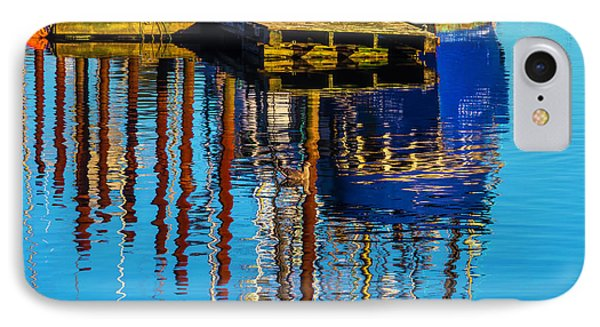Harbor Reflections IPhone Case by Garry Gay