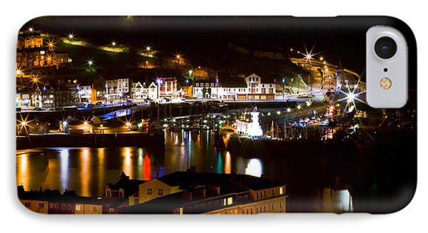 Harbour At Night Phone Case by Svetlana Sewell